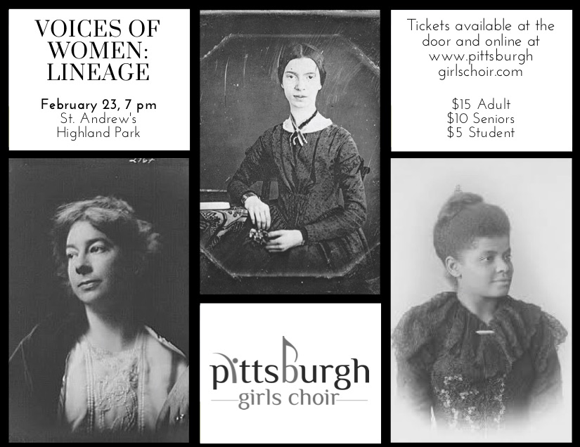 Voices Of Women Lineage Pittsburgh Girls Choir